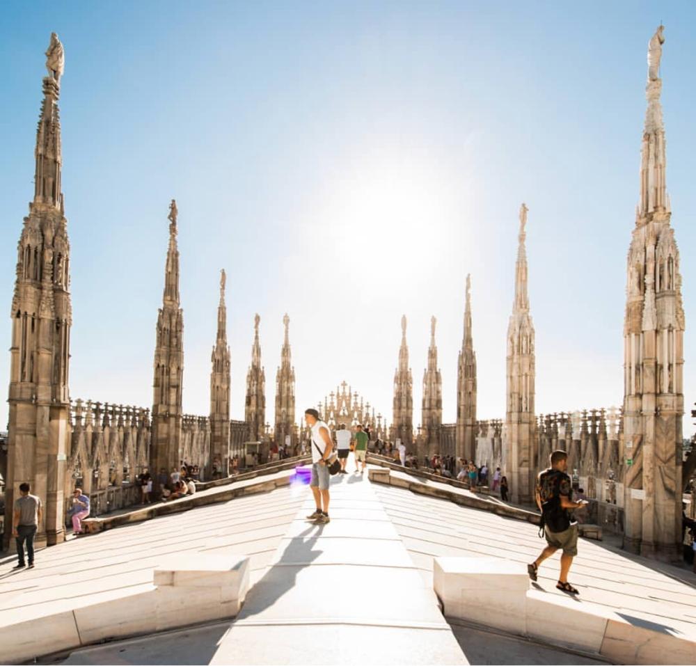 Il tetto del Duomo di Miano, Andrea Brandino.jpg