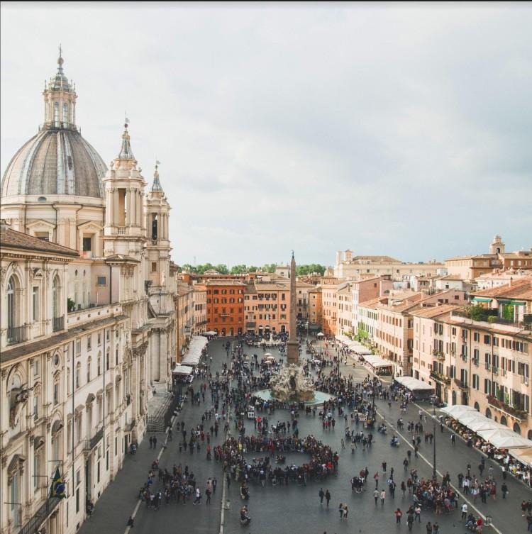 Piazza Navona, Andrea Brandino
